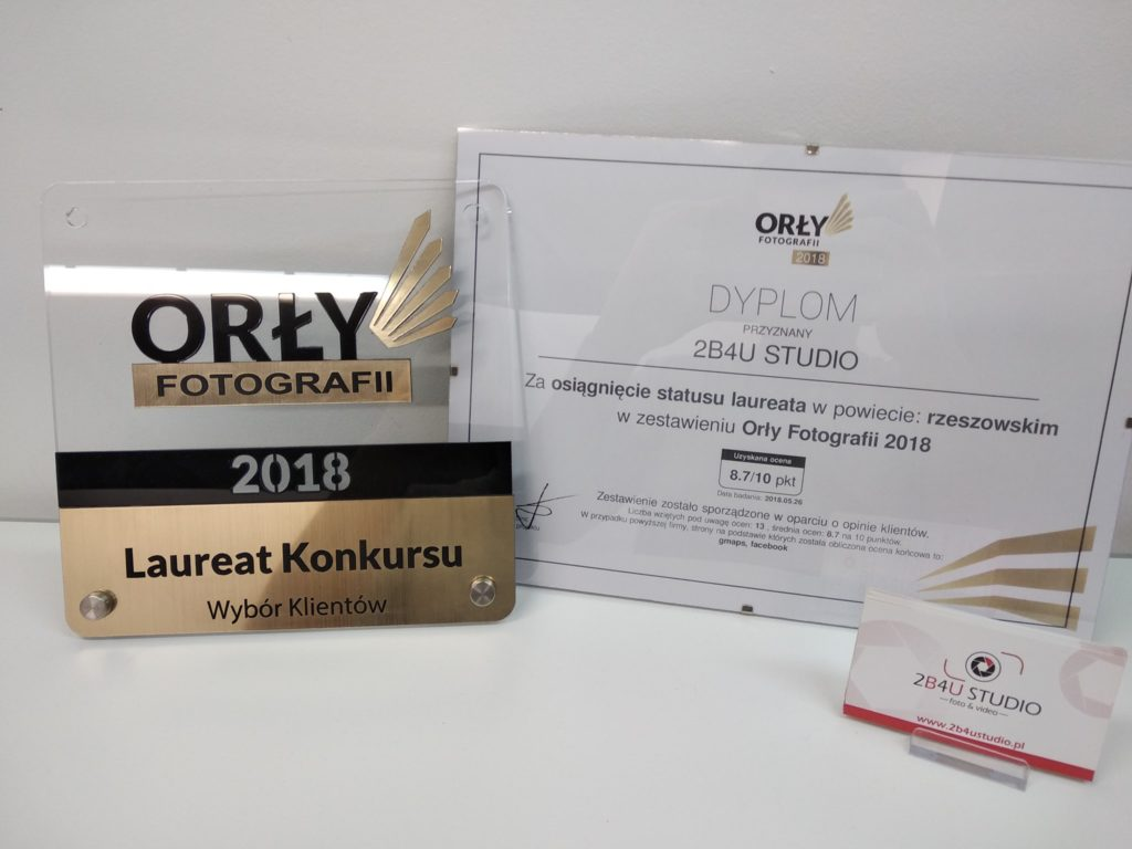 Jesteśmy laureatem konkursu Orły Fotografii 2018