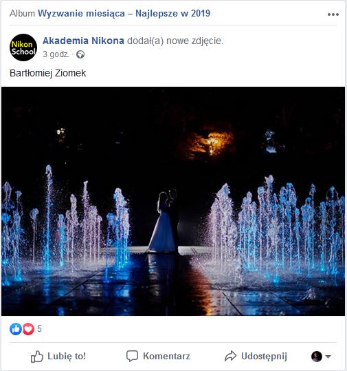 """Wyróżnienie w konkursie na """"Najlepsze zdjęcie 2019"""""""